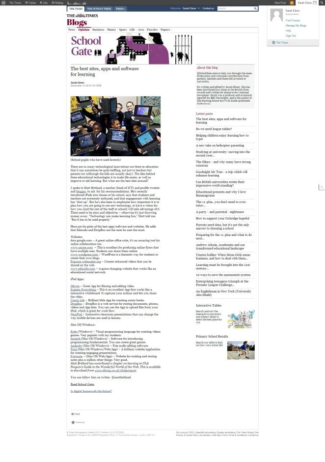School Gate Interview