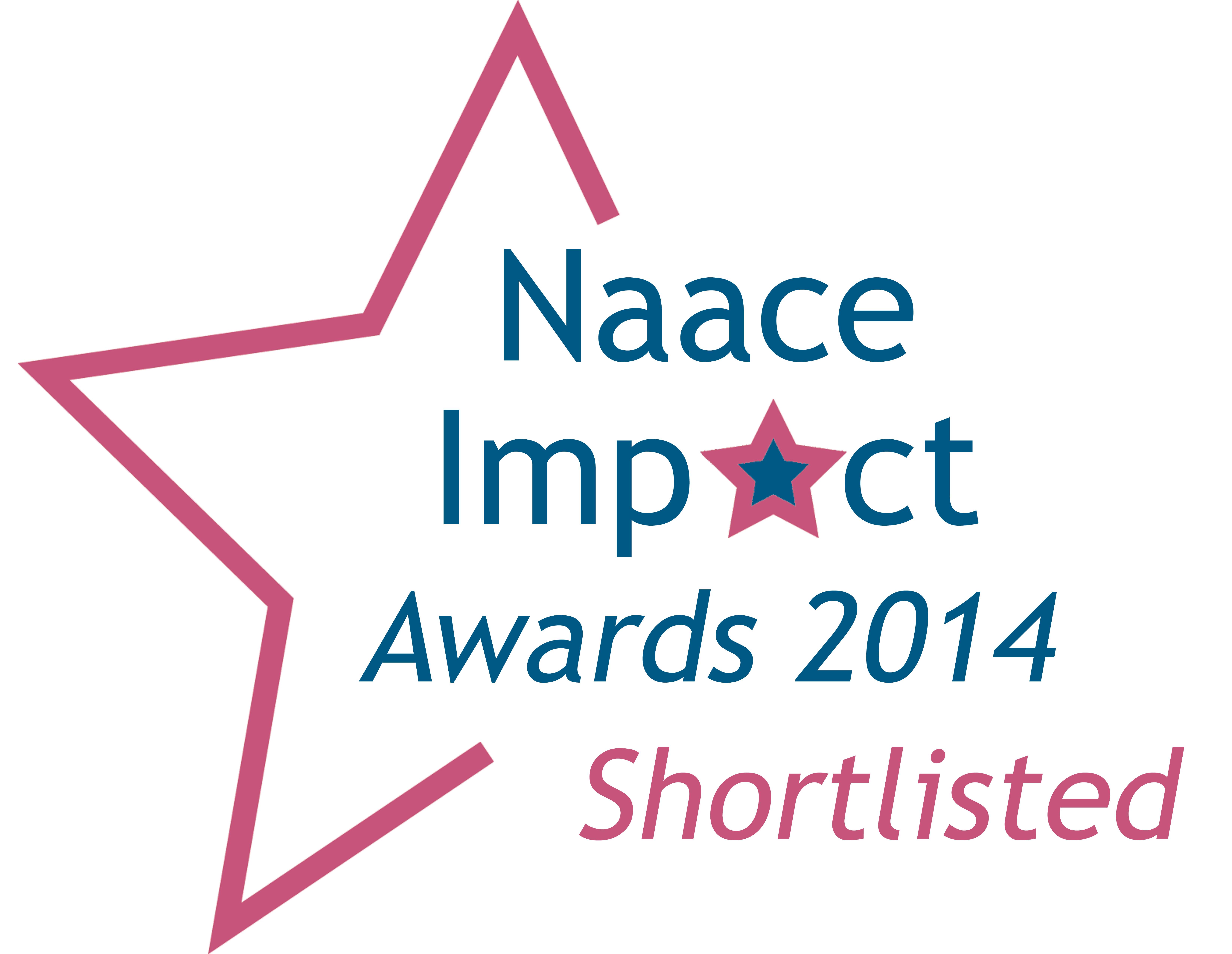 Naace Impact Award Shortlist 2014
